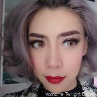 Softlens Pretty Doll Vampire Sepasang Murah Original