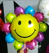 Balon Foil Bunga Matahari Mini by Esslshop