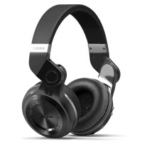 Bluedio T2 Turbine Wireless Bluetooth Headphones - Black