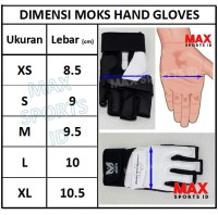 Moks Crusader Hand Gloves / Hand Protector for Taekwondo and Fitness