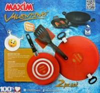 Maxim valentino 2pc set /wajan pan valentino set