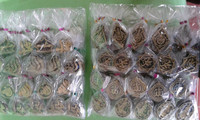 Souvenir gantungan kunci Lafadz / Kaligrafi Arab