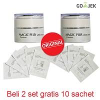 Magic Plus White Cream 35g 2 pcs ( Bonus 10 Sachet )