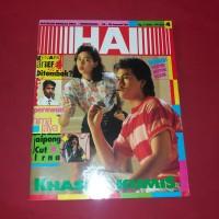 Majalah Hai 24-30 Januari 1989   Khasiat Kumis