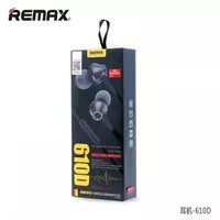 Remax Earphone with Microphone & Volume Control - RM-610D