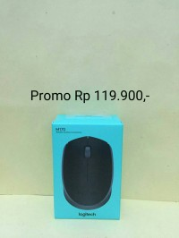 Mouse Wireless Logitech M165 NEW ORIGINAL 100% / M 165 Mouse Murah