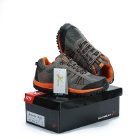Sepatu Gunung KETA 427 GREY ORANGE Trekking/Hiking/Adventure/Outdoor