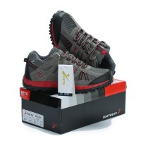 Sepatu Gunung KETA 427 GREY RED Trekking/Hiking/Adventure/Outdoor