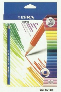 Pensil warna 36 LYRA