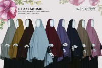 Fatimah - Khimar Niqab Cadar Tali Jilbab - Khadijah Indonesia