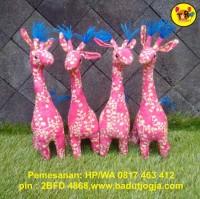 Boneka Batik Jerapah 30cm