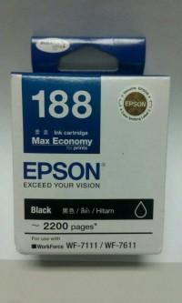 TINTA EPSON T188 - BLACK (WF 7111 & WF 7611)