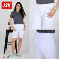 Celana pendek wanita celana santai warna putih 111 ORIGINAL