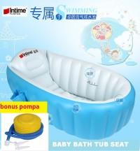 Paket Intime Baby Bath Tub / Bak Mandi Bayi + BONUS POMPA murah
