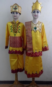 Baju Adat Gorontalo / Pakaian Adat Gorontalo