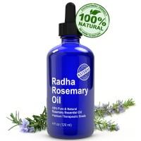 100% PURE RADHA ROSEMARY ESSENTIAL OIL - 20ml Repack