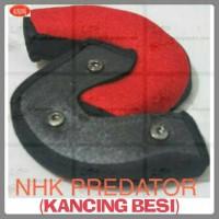 BUSA PIPI, BANTALAN PIPI HELM NHK PREDATOR (KANCING BESI)