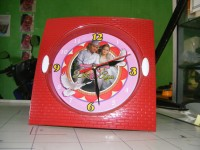 Jam Dinding Custom/Foto/Promosi JDC02