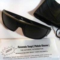 Kacamata Terapi Pinhole Glasses Model Sporty