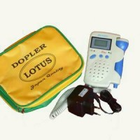 Fetal Doppler Lotus LCD. Fetal Dopler Lotus LCD.
