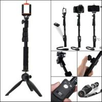Paket Selfie / Tongsis Bluetooth Yunteng YT-1288 + Tripod Yunteng 228