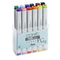 Copic Sketch Marker Set 12 Warna Basic Colour Spidol