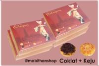 Pia Legong Bali Mix 4 Coklat + 4 Keju