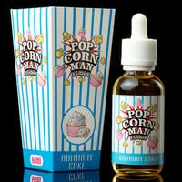 Birthday Cake by Popcorn Man USA Liquid Premium 60ml 3m Limited