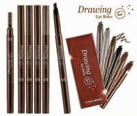 Eye Brow Drawing Etude House With Brunch 2 in 1/ Pensil Alis Murah