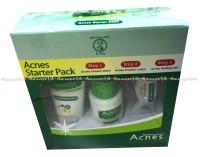 Acnes Starter Paket Perawatan Wajah berjerawat Muka Jerawat 1set