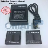 Paket Super Hemat Baterai Xiaomi Yi dan Dual Charger Xiaoyi Yicam