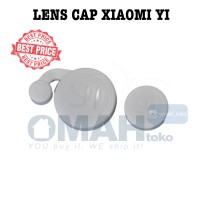 Lens Cap Protect Pelindung Cover for Xiaomi Yi Cam - White