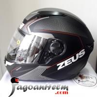 ZEUS Helm ZS811 AL6 Pattern ZS-811 Import ZS 811 Fullface +Smoke Visor