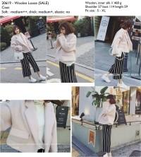20619 - Woolen Loose (SALE) -  Coat