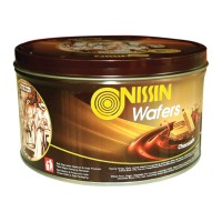 Nissin wafers Chocolate 200gr