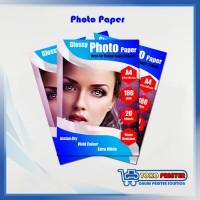 ONE Print Kertas Glossy Photo / Foto Paper Ukuran A4 180 Gram