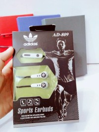 HEADSET HANDSFREE ADIDAS AD809 SPORTS EARBUDS