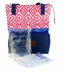 Gabag ulos - cooler bag