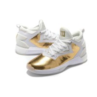 Sepatu Basket Adidas Damian Lillard 2 White Gold PREMIUM QUALITY