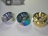 harga Corong knalpot mio vario nouvo xeon tsukigi gold rainbow silver/chrome Tokopedia.com
