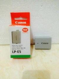 Battery Baterai kamera DSLR canon LP-E5 FOR 450D / 500D / 1000D