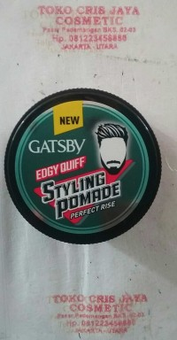GATSBY EDGY QUIFF STYLING POMADE PERFECT RICE 75G