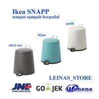 IKEA SNAPP tempat sampah berpedal ukuran 5L / keranjang sampah