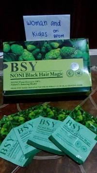 Shampo BSY Noni Mengkudu Shampo Herbal Penghitam Rambut
