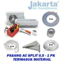 Paket Pasang AC Split 0,5 - 1 PK