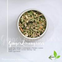 Artisan Cafe Tea - Ginger Lemongrass Teh Jahe Serai Sereh Lokal 100gr