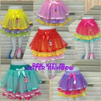 Rok Tutu Kity Rainbow Uk L Cantik Homemade Grosir