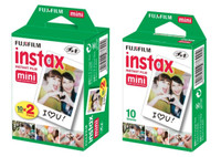 Isi Refill Fujifilm Instax Mini Instant Paper Film isi 30 POLOS