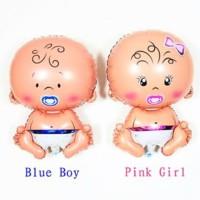 balon foil bayi ballon baby shower party lucu cowok cewek