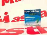 Refill Isi Ulang Strip Blood Glukosa Glucosa Gula darah On Call Plus